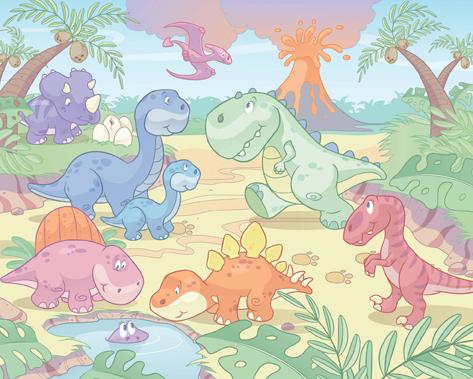 Fototapeta Walltastic Baby Dino