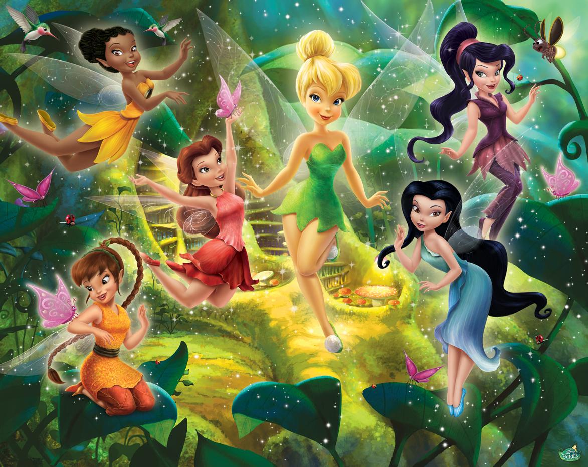 Disney Víly fototapeta