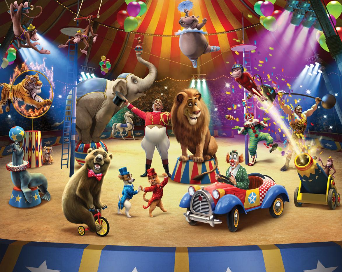 Cirkus fototapeta