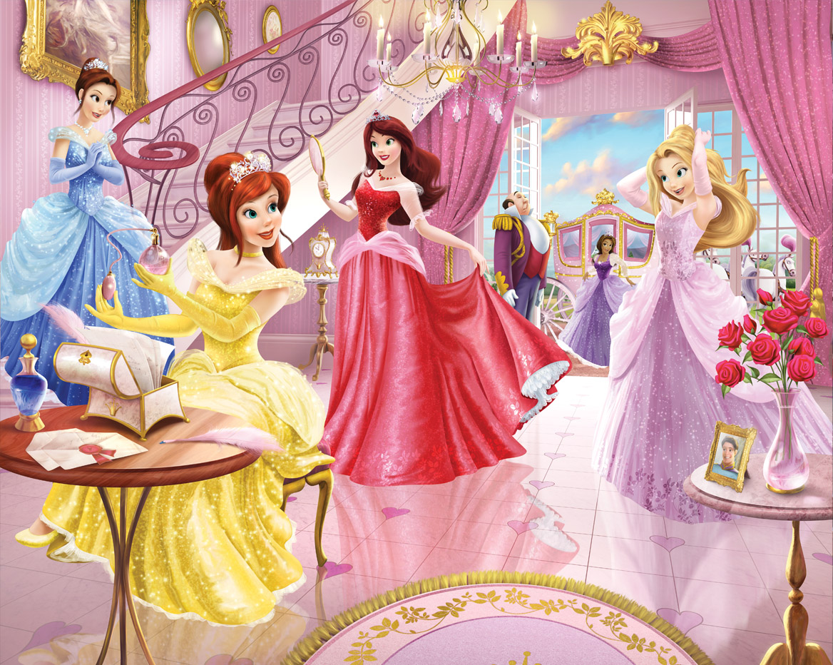 Princezny fototapeta