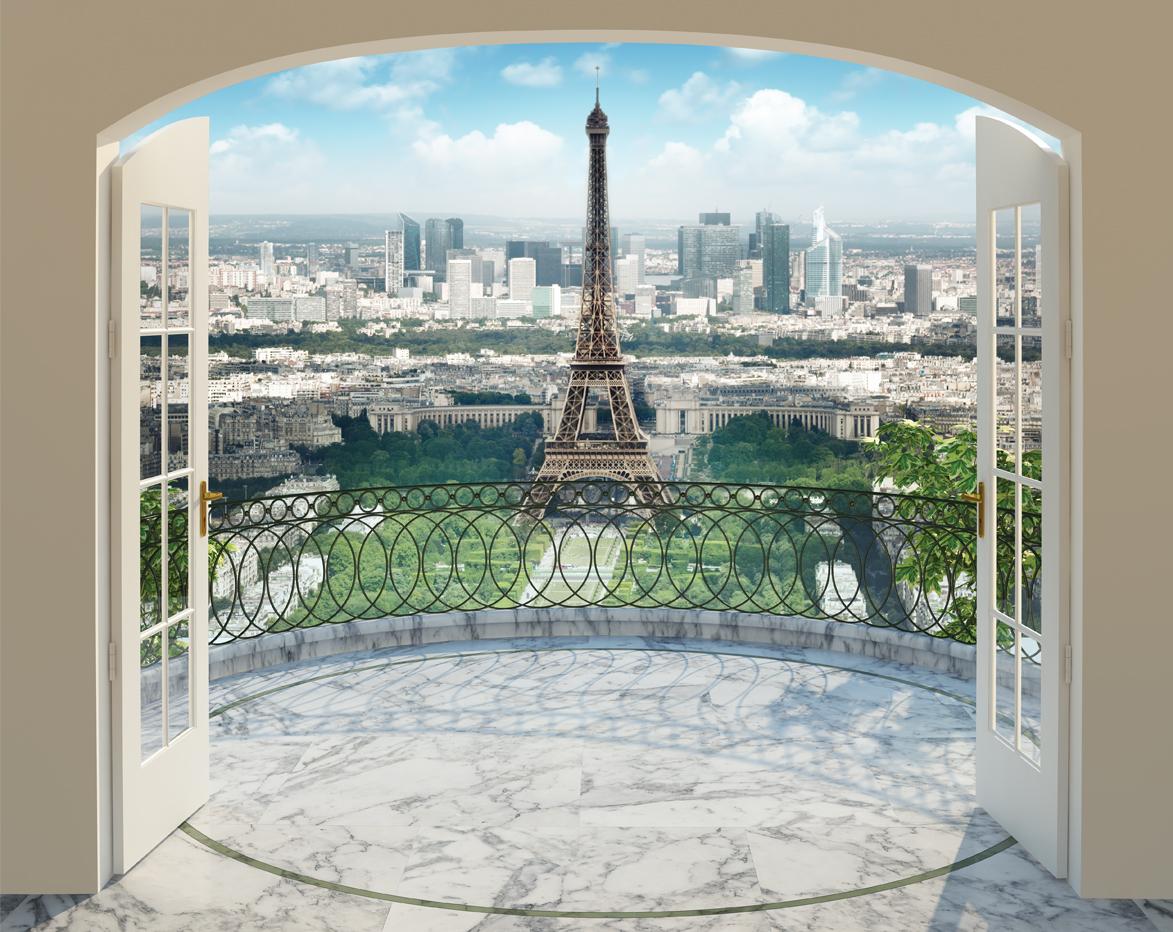 Paříž fototapeta