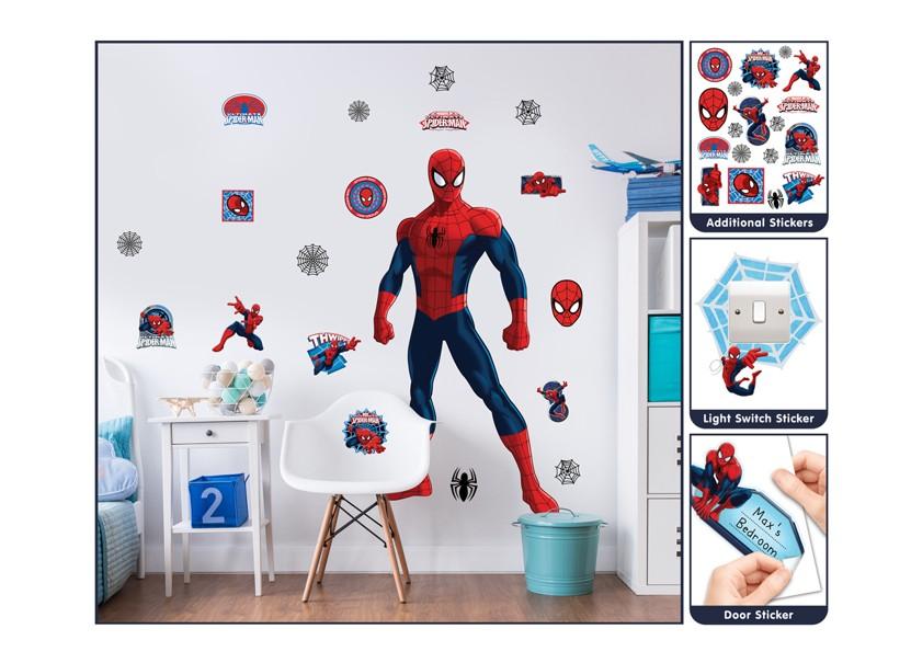 Velká samolepka Spiderman