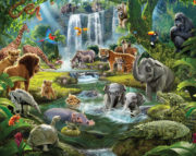 Jungle Adventure Mural – 46481
