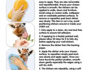 Jungle Safari Room Decor Kit Instructions 45439