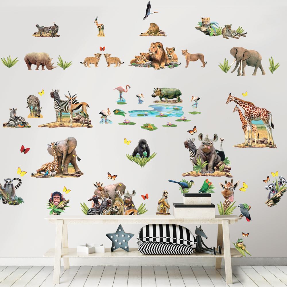 Dekorace Safari