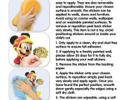 Mickey-Mouse-RR-Room-Decor-Kit-Instructions-45613