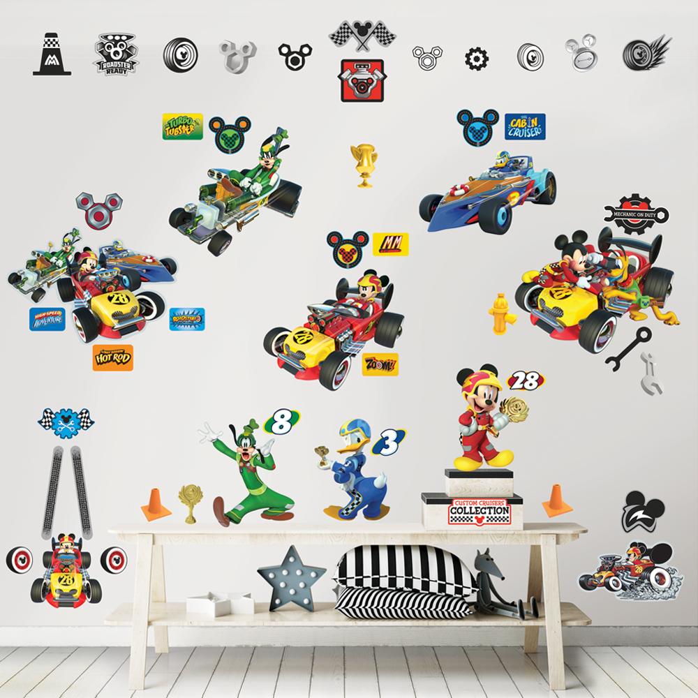 Dekorace Disney Mickey Mouse Závody