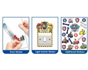 Paw Patrol Large Character Additional Stickers – 44623