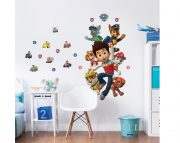 Paw Patrol Large Character Sticker Bedroom Scene – 44623