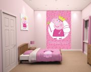 Princess Peppa Pig Bedroom Scene – 43718