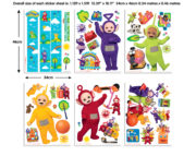 Teletubbies Stickers Room Decor Kit – 44494