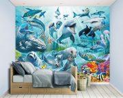 Under the Sea Bedroom Scene – 46498