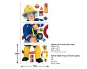 Fireman Sam Sticker Sheets – 44333