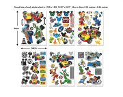 Mickey-Mouse-RR-Room-Decor-Kit-Sticker-Sheets-45613